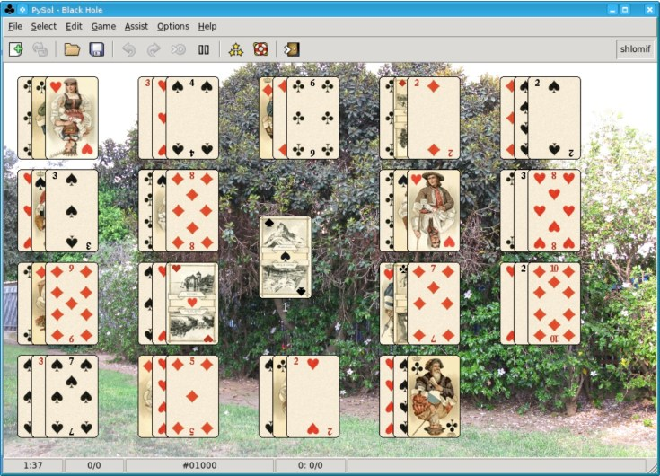 Solitaire appears in many different variations and UX designs. Source: Wikimedia