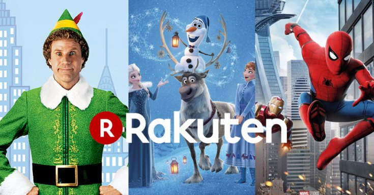 On the first day of Christmas Rakuten gave to me, some amazing films on my TV (in HD)