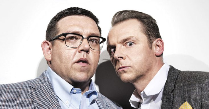 Amazon Picks Up Simon Pegg/Nick Frost Paranormal Horror-Comedy TV