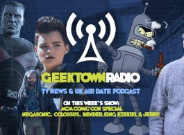 Geektown Radio MCM Comic Con: Interviews With 'Deadpool 2' Stars, 'The Walking Dead' Stars, & Futurama's Bender