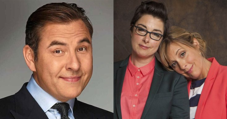 Sky Commissions New Comedies 'The Queen and I' starring David Walliams & 'Hitmen' starring Mel & Sue