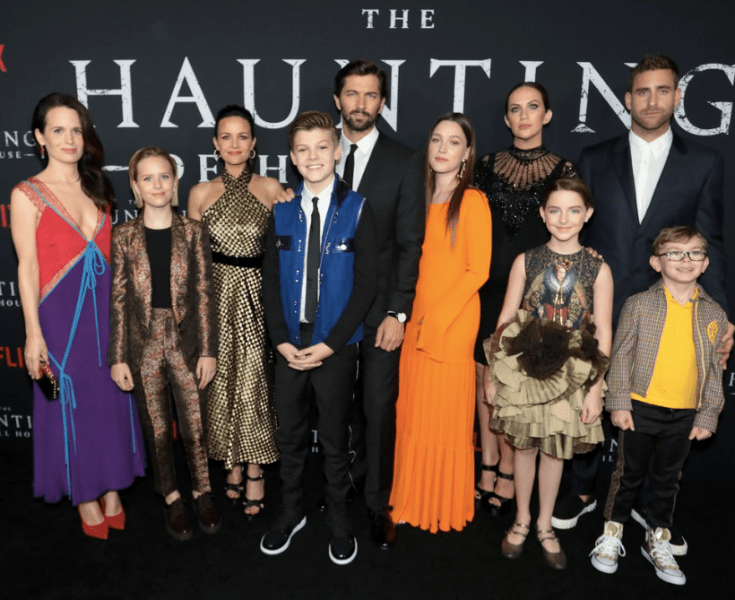 Cast at 'The Haunting of Hill House' Premiere
