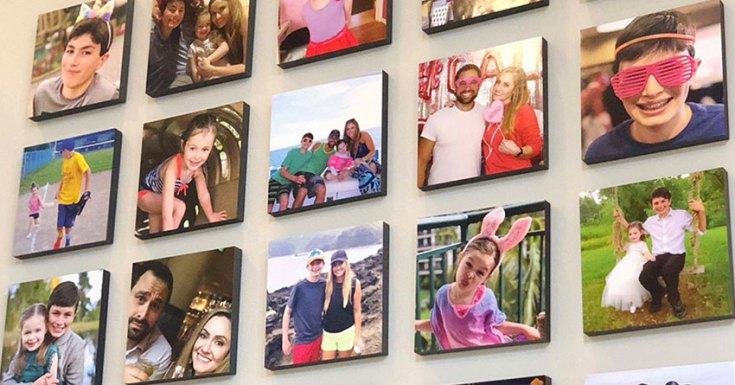 How to Make Your Friend Happy with Wallpics Photo Tiles Gift Card?