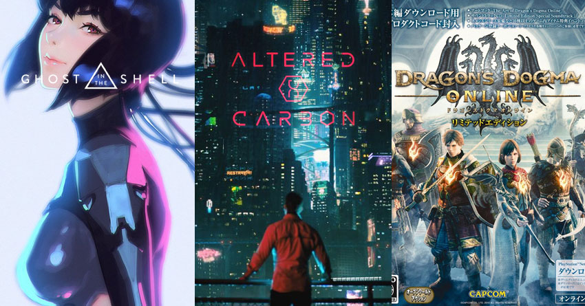 Netflix Expands Anime Offering With Altered Carbon Resleeved Dragon S Dogma Ghost In The Shell Sac 2045 And More Geektown