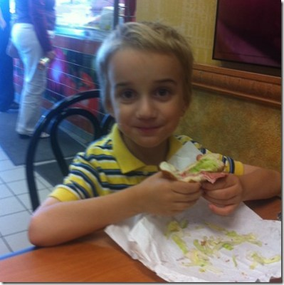 POD: Eating like a Big Girl