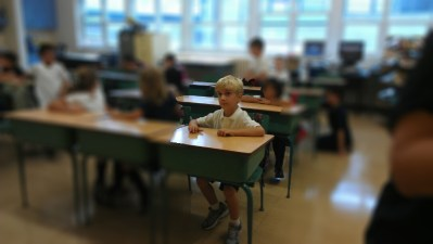 POD: First Day of First Grade