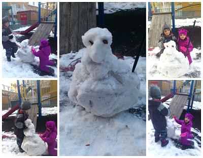 POD: Building a Snowman