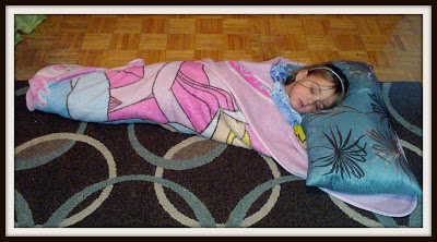 POD: Princess Sleeping bag