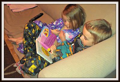 POD: Reading to Violet