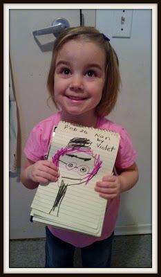 POD: Violet's Portrait of Nan