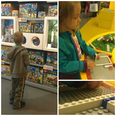 POD: Visiting the Lego Store