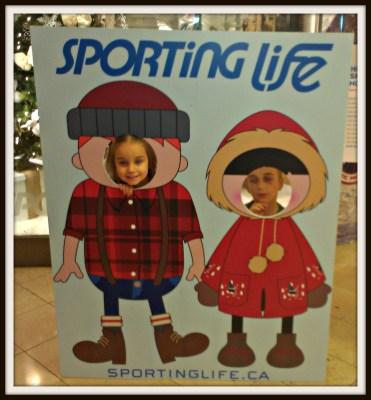POD: Posing at the Mall