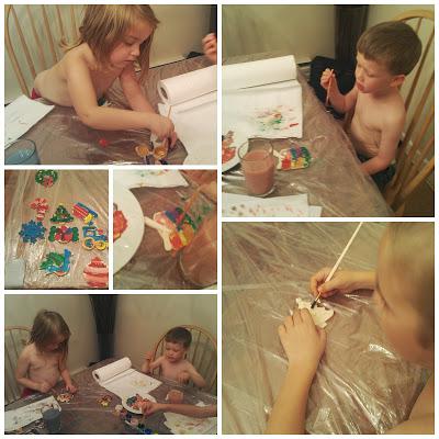 POD: Painting Ornaments