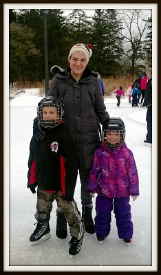 POD: Outdoor Skating with the Family