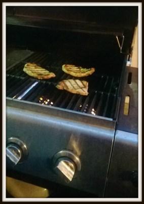 BBQing in January