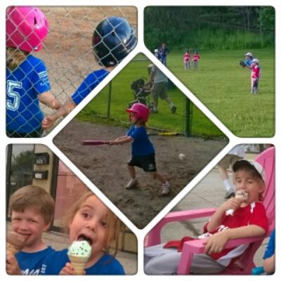 POD: Kids play Baseball
