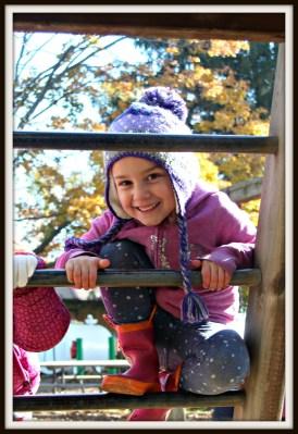POD: Violet at the Pumpkin Patch