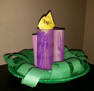 POD: Violet's Advent Candle