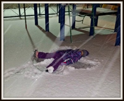 POD: First Snow Angels of the Season