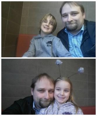 POD: Selfie with kids