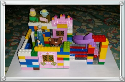 POD: Violet's Lego and Shopkins Creation