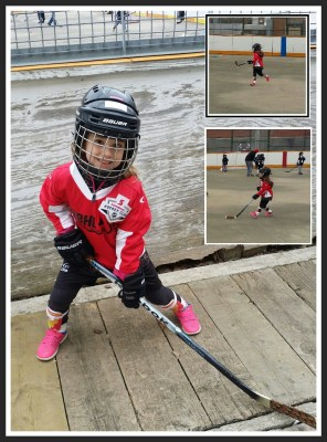 POD: First day of Ball Hockey