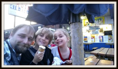 POD: Evening Ice Cream
