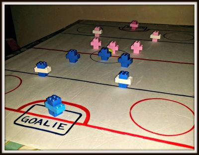 POD: Learning Hockey with Lego