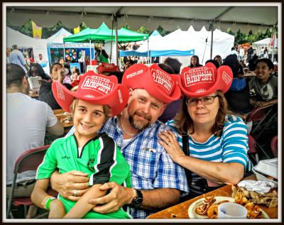 POD: Ribfest with Nana and Papa