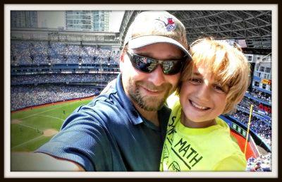 POD: Baseball game with Jacob