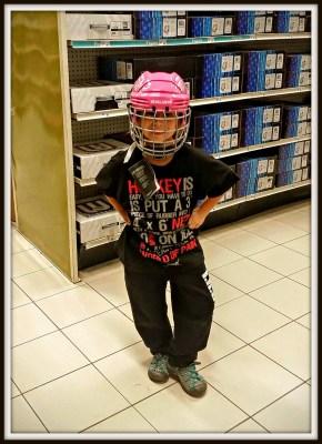 POD: Violets new helmet