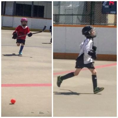 POD: Saturday at the Ball Hockey rink