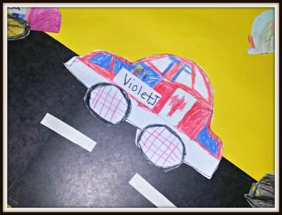 POD: Violet's school art
