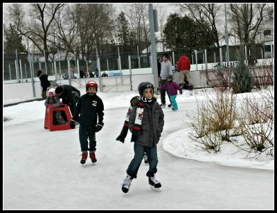 POD: Skating with the kids