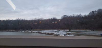 POD: Wintery River