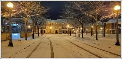 POD: Snowy Night