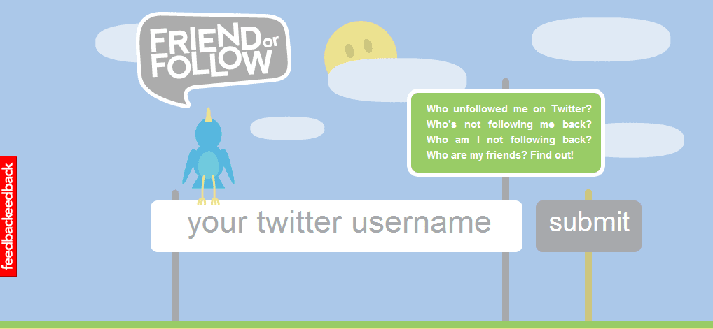 Friend or Follow-twitter unfollow tool