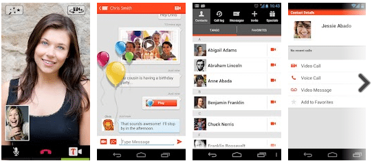 Tango Text, Voice, Video Calls for Android