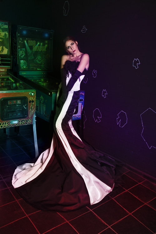 Video Arcade Fashion Photoshoot