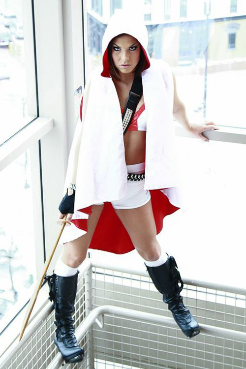 Happy Girl Face Wallpaper Assassins Creed Cosplay