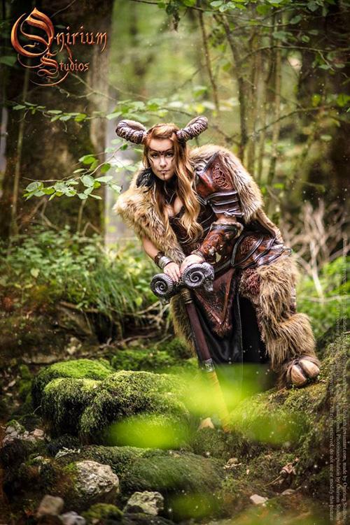 Fairy Girl Wallpaper Celtic Armor Fantasy Photoshoot