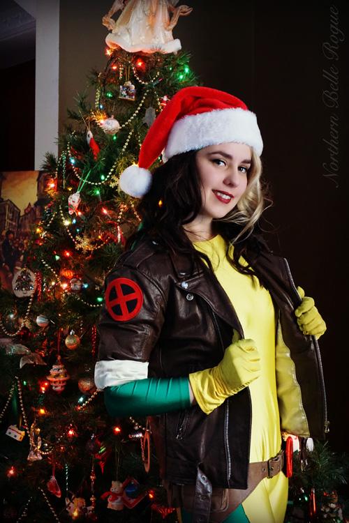 Christmas Rogue Amp Gambit Cosplay