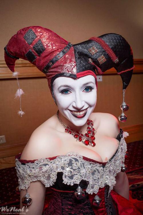 Masquerade Ball Harley Quinn Cosplay