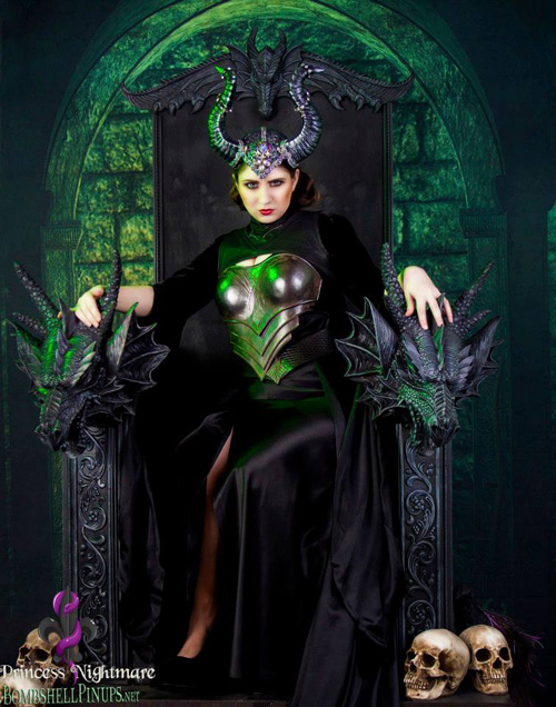 black throne chair desk covers dorm maleficent cosplay