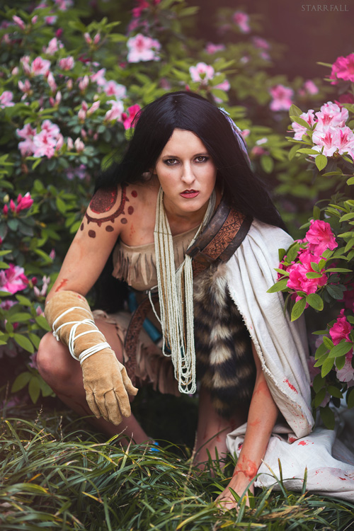 Warrior Pocahontas Cosplay
