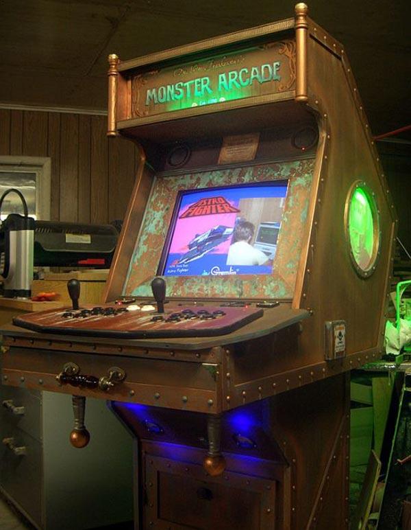 Steampunk Arcade Machine
