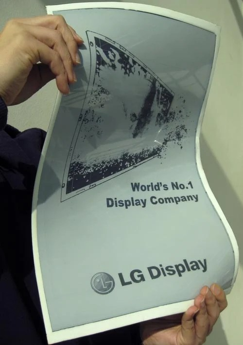LG Display Announces 19 Inch Flexible E-Paper Display