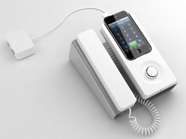 iPhone Desk Phone Dock