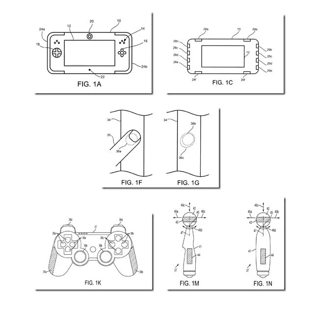 Sony Patents Biometric Handheld Consoles And Controllers