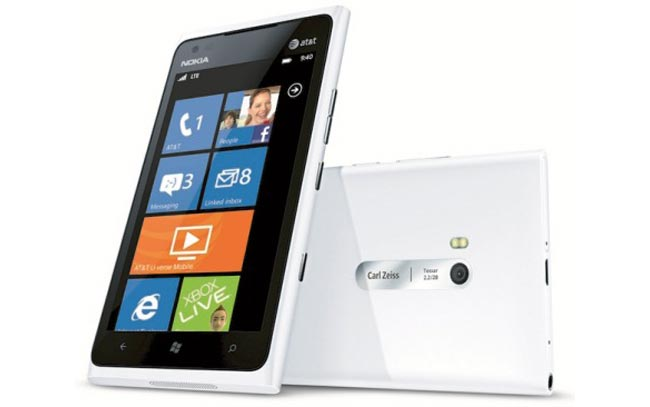 White Nokia Lumia 900 Coming To AT&T 22nd April